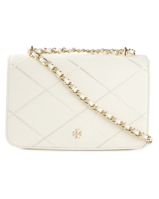 Tory Burch | Женское Leather Robinson Stitched Shoulder Bag From