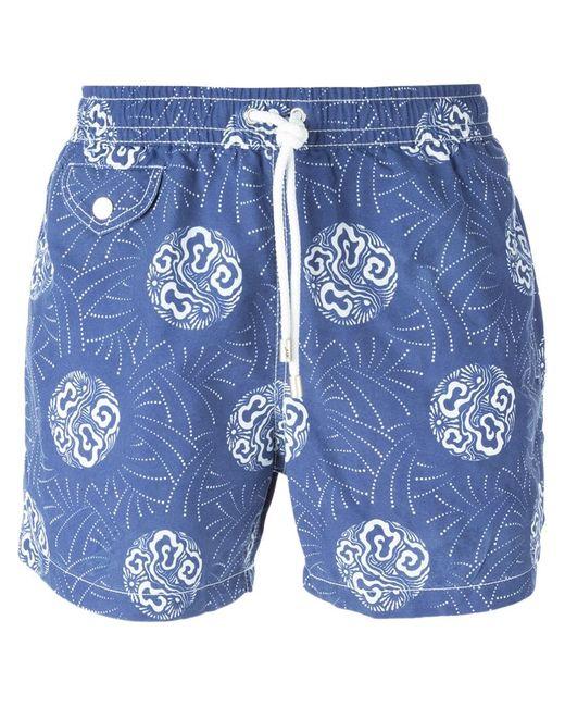 Hartford | Мужское Синий Printed Swim Shorts From