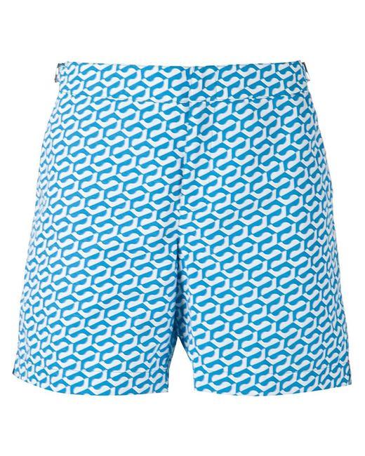 Orlebar Brown | Мужские Синие Плавательные Шорты Bulldog