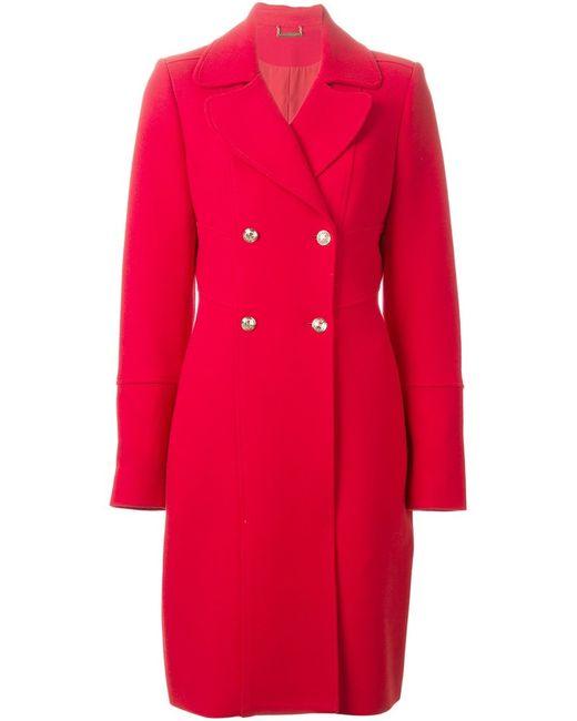 Diane Von Furstenberg   Женское Красное Двубортное Пальто