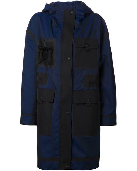 Alexander Wang | Женское Синее Объёмное Пальто