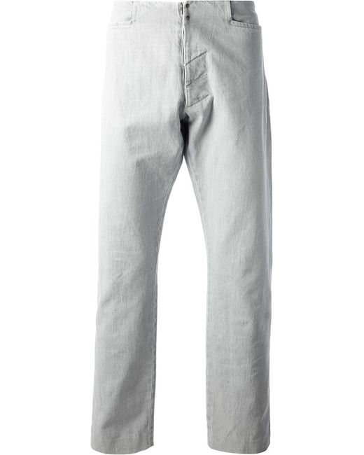 Maison Margiela | Мужское Серый Loose Fit Jeans