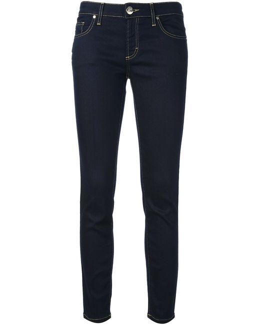 Versace Collection | Женское Синий Studded Skinny Jeans