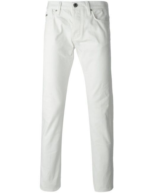 Emporio Armani | Мужское Cotton Slim Fit Jeans From
