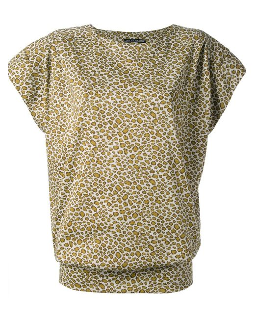 LABOUR OF LOVE | Женское Cotton Leopard Mini Sweater Dress From