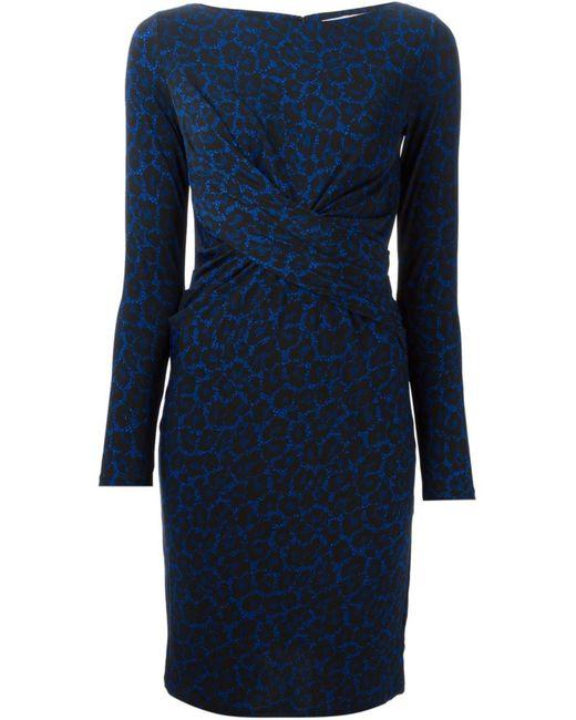 Michael Michael Kors   Женское And Leopard Print Twist Dress From