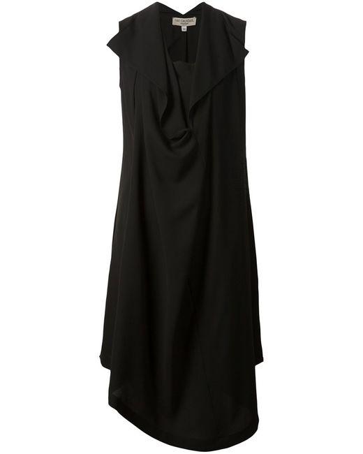 Ivan Grundahl   Женское Чёрный Draped Dress From