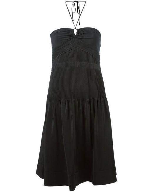 Vanessa Bruno   Женское Silk Halterneck Dress From
