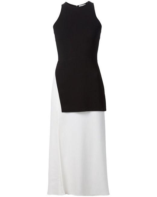 A.L.C. | Женское Чёрный And Silk Blend Mer Asymmetric Dress From