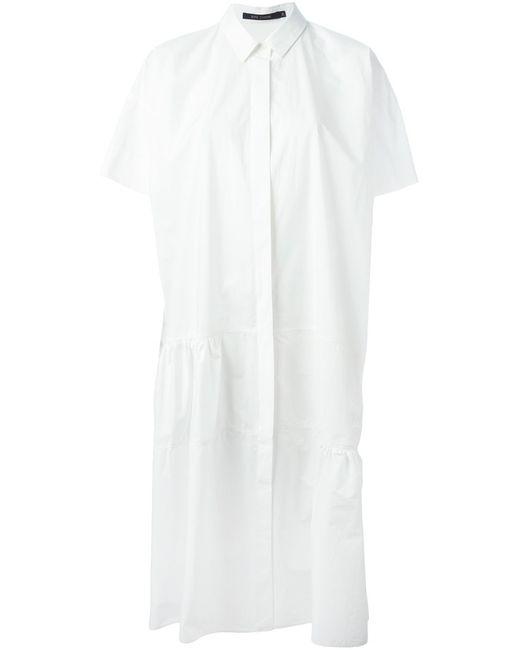 Sofie D'Hoore   Женское Light Weight Cotton Dress With Short Sleeves