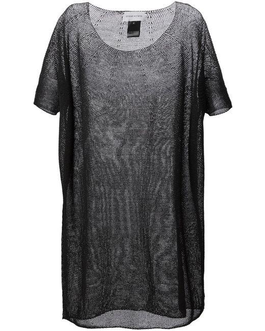 Christian Wijnants | Женское Чёрное Вязаное Платье