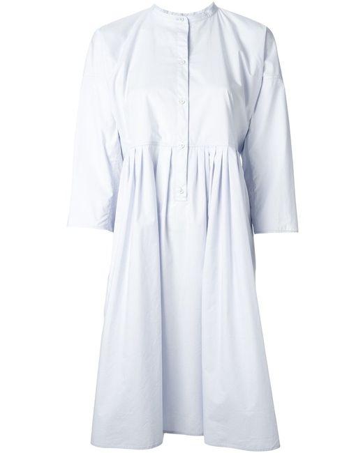 Sofie D'Hoore | Женское Artic Cotton Oversized Band Collar Sirt Dress