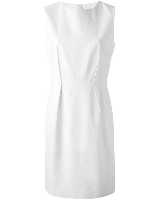 Acne | Женское Белое Платье Bel