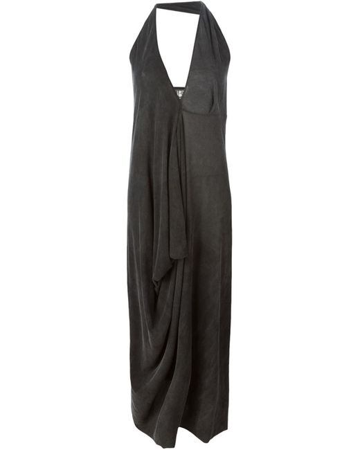 LOST AND FOUND | Женское Cotton Draped Maxi Dress From
