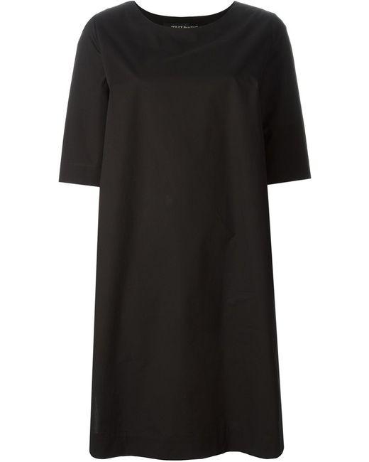 Ter Et Bantine | Женское Чёрное Платье Свободного Кроя
