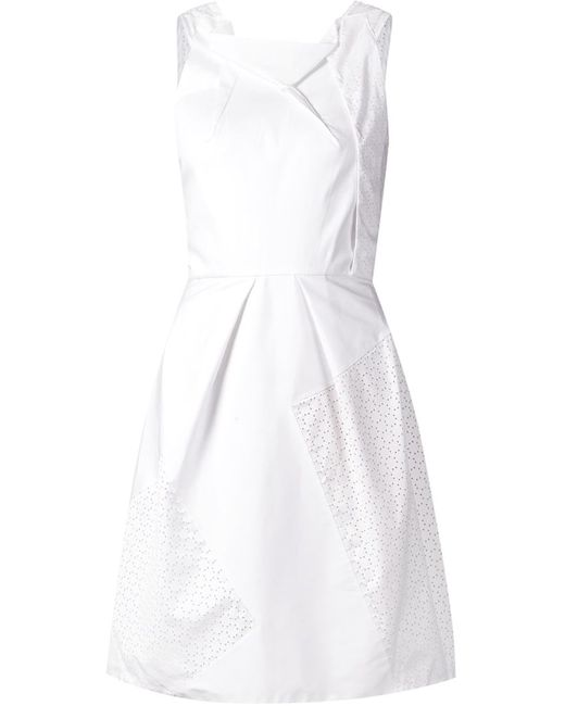 Roland Mouret | Женское Silk And Cotton Minley Dress From