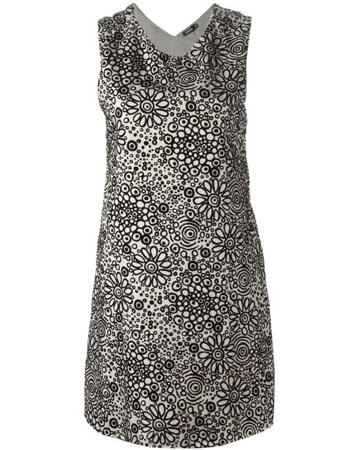 Aspesi | Женское Nude & Neutrals And Print Shift Dress From