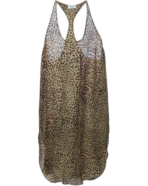 Laurence Doligé | Женское Multicoloured Leopard Print Dress From