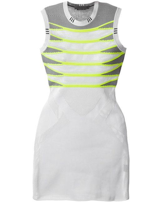 Alexander Wang   Женское Серый Striped Mesh Dress