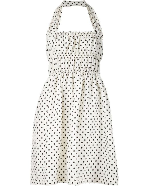 Piamita | Женское Белый And Linen And Silk Blend Rita Dress