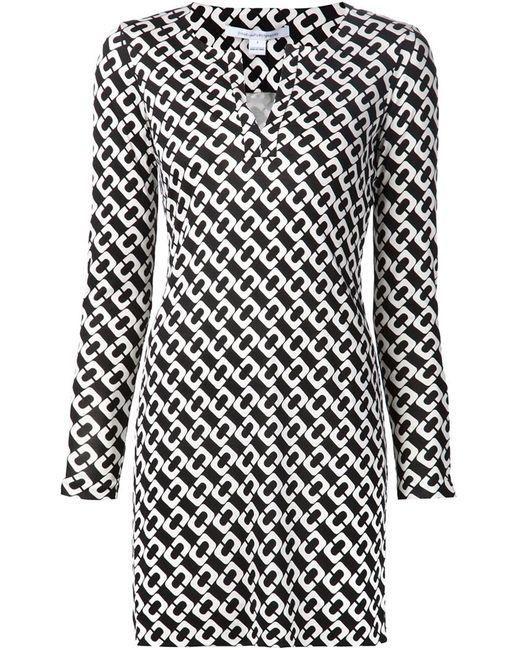 Diane Von Furstenberg | Женское Чёрный Reina Dress