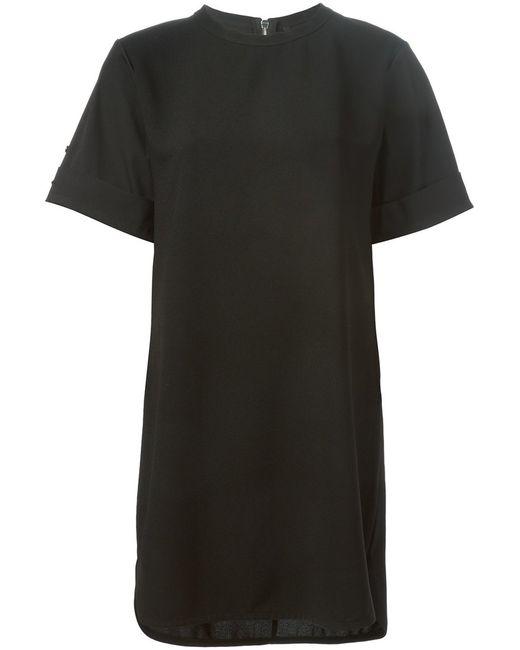 Neil Barrett   Женское Boxy T-Shirt Dress From Featuring A Crew