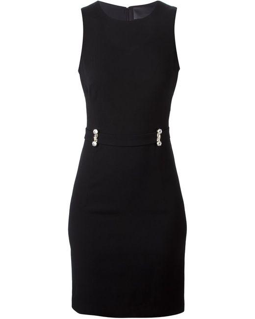 Philipp Plein | Женское Чёрное Платье Rabiosa