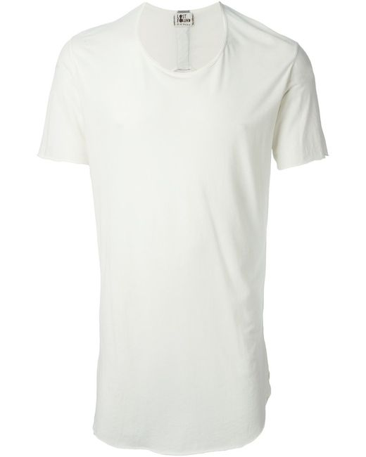 LOST AND FOUND | Мужское Cotton Long Line T-Shirt From
