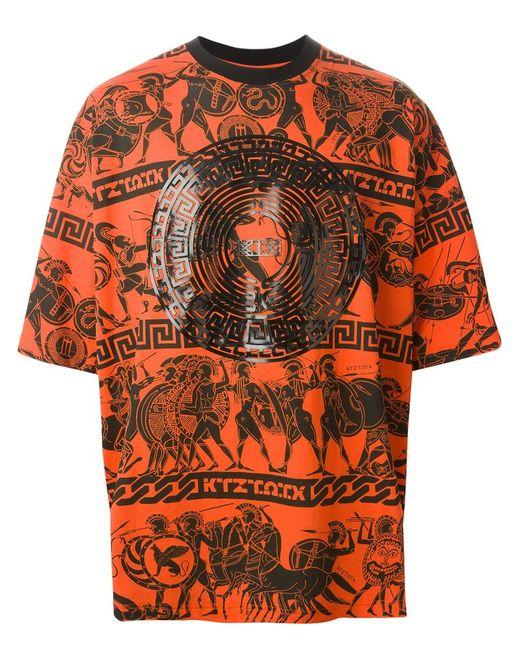 Ktz   Мужское And Cotton War Print T-Shirt From