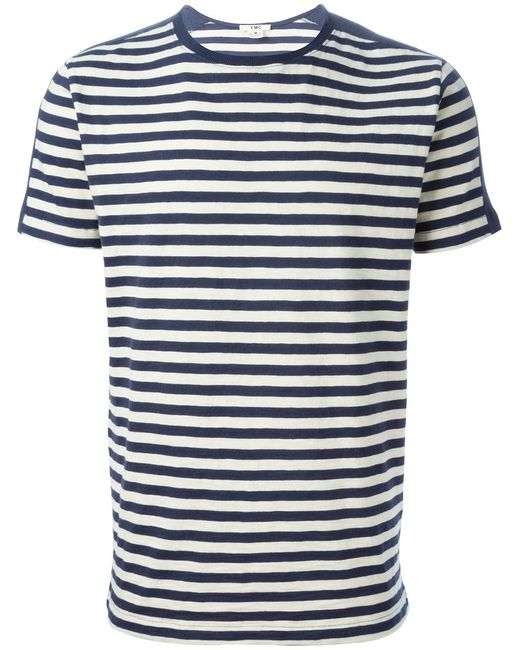 YMC | Мужское And Cotton Puma Striped T-Shirt From