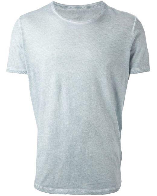 MAJESTIC FILATURES   Мужское Синий Cotton Round Neck T-Shirt From