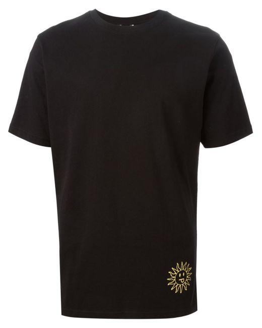 PAM PERKS AND MINI   Мужское Чёрный Cotton Back Print T-Shirt From