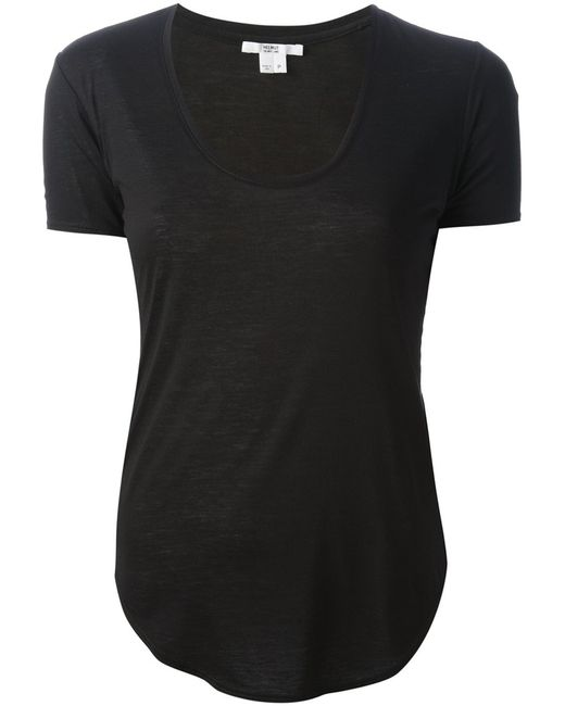 Helmut Lang | Женское Kinetic T-Shirt From Featuring A Scoop Neck