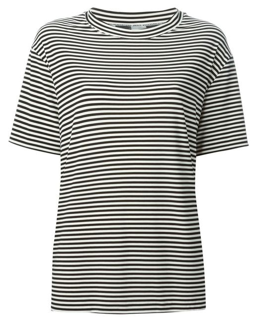 Norma Kamali | Женское And Striped T-Shirt From