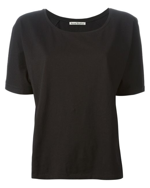 Acne | Женское Cotton Nairobi T-Shirt From Featuring A Scoop