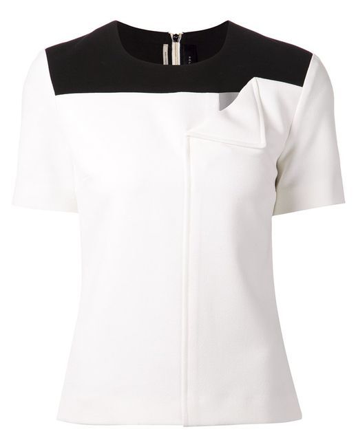 Roland Mouret   Женское And Hanch Top From