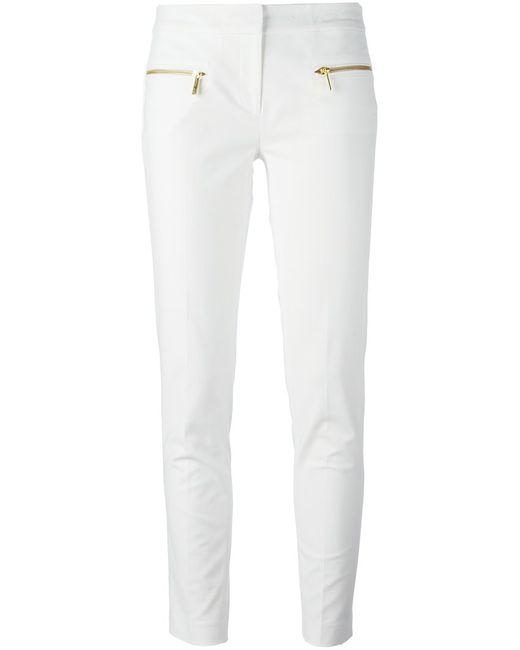 Michael Michael Kors   Женское And Tone Stretch Cotton Zip Detail Slim