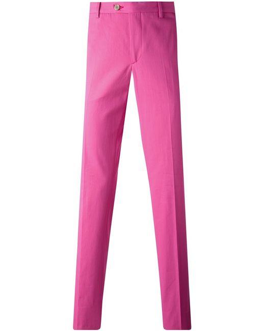 Etro | Мужское Fuchsia Cotton Chino Trousers From