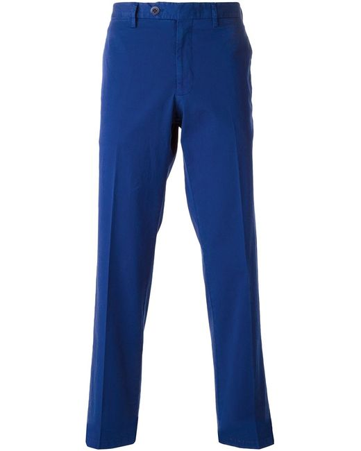 Canali   Мужское Stretch Cotton Classic Chinos From