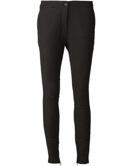 TVSCIA | Женское Cotton-Linen Blend Skinny Trousers From