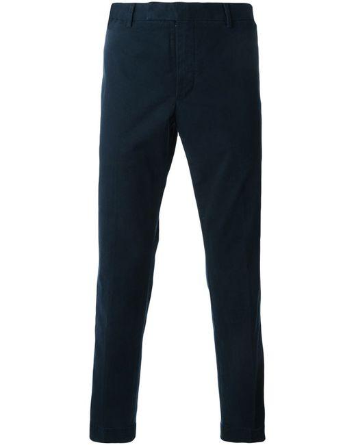 Polo Ralph Lauren | Мужские Синие Классические Плотные Брюки