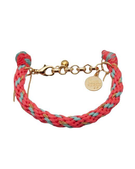 Venessa Arizaga | Женское Серебристый And Playa Bracelet From Featuring A Braided