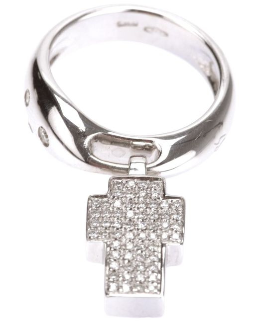 GAVELLO | Женское Серебристый Cross Ring