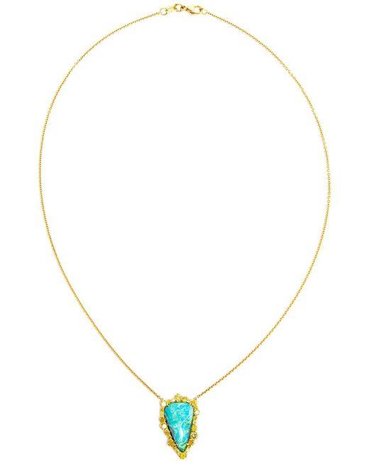 KIMBERLY MCDONALD | Женское Синий 18kt Opal Boulder Necklace