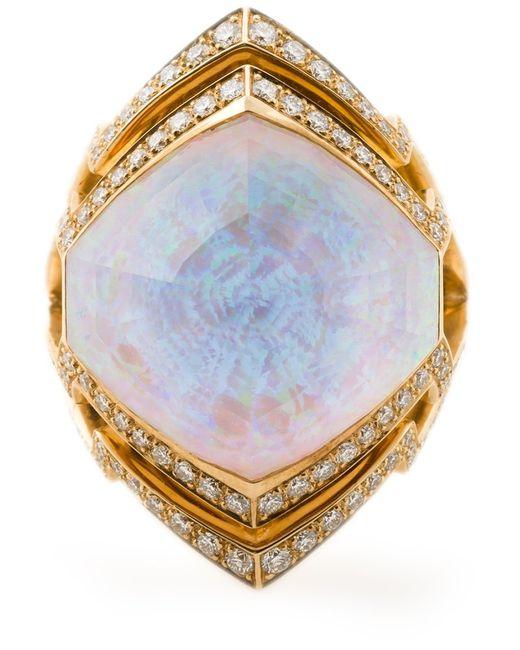 Stephen Webster | Женское Серебристый 18kt 1415gm Small Crystal Haze Ring From