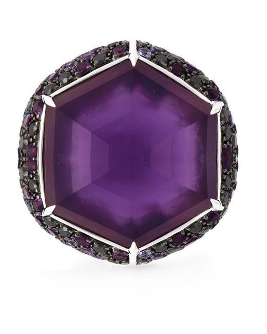 Stephen Webster | Женское Серебристый 18kt 985gm Sapphire Diamond Cocktail Ring From