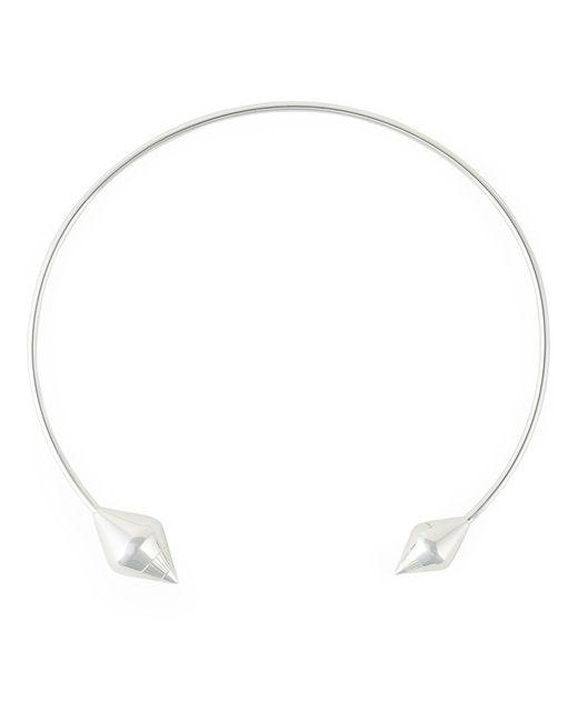 LARA BOHINC   Женское Серебристый Eye Choker Necklace