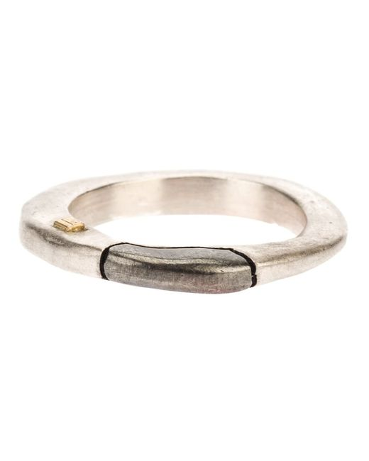 ROSA MARIA | Женское Серебристый Ring From Featuring A Detail And A