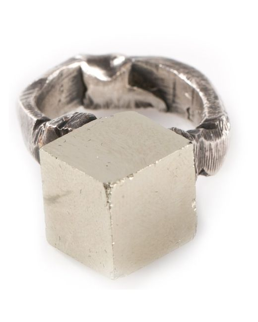 GASPARD HEX | Женское -Tone Pyrite Ring From Featuring A Pyrite