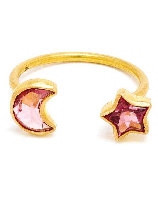 MARIE HELENE DE TAILLAC   Женское Розовый 18kt Duet Ring